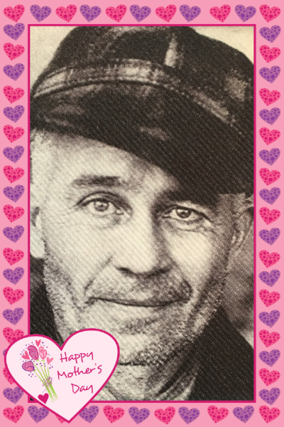 Ed Gein Butcher of Plainfield Mother's Day Card